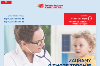 "Centrum Medyczne ""KARDIOTEL-BLIKPOL"" - Alergolog Sopot"