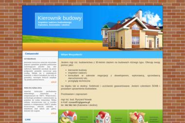 Kierownik budowy - inspektor nadzoru budowlanego - Nadzór Budowlany Katowice