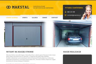 MAKSTAL - Garaże blaszane Częstochowa