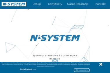 Firma Handlowo - Usługowa N-SYSTEM - Instalacje Alarmowe Kołaczyce