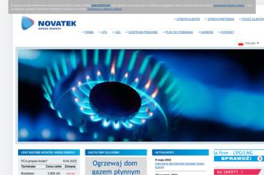 Novatek Polska Sp. z o.o. - Zaopatrzenie w gaz Kraków