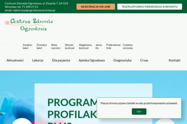Centrum Zdrowia Ogrodowa - Apteki Wrocław