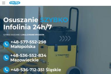 Osusz - Osuszanie Fundamentów Kraków