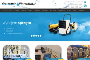 Protek - Osuszanie Warszawa