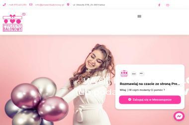 PREZENT BALONOWY - Balony Urodzinowe Kielce
