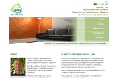 PSYCHO - LAB - Psycholog Wałbrzych