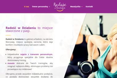 Radość w działaniu - Masaż Dla Kobiet w Ciąży Warszawa