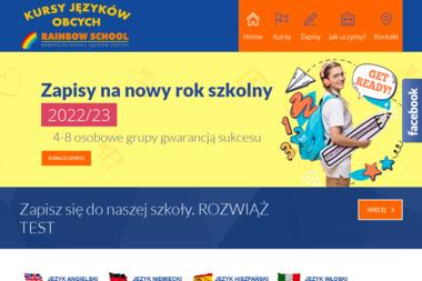 Rainbow School - Szkoła języków obcych - Kurs niemieckiego Tomaszów Mazowiecki