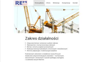 Przedsiębiorstwo Produkcyjno Budowlano Handlowe REMBIS Sp. z o.o. - Wykonanie Konstrukcji Stalowej Janikowo
