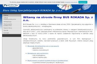 Biuro Usług Specjalistycznych ROKADA Sp. z o.o. - Detektyw Warszawa