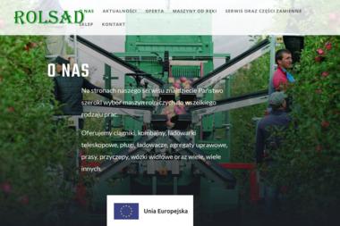 ROLSAD - Maszyny rolnicze Rawa Mazowiecka