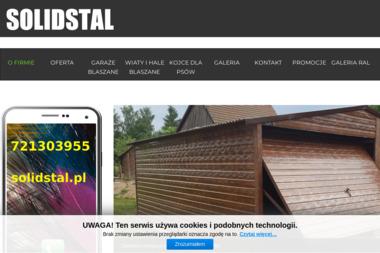 Solidstal - Blaszane Garaże Łomża