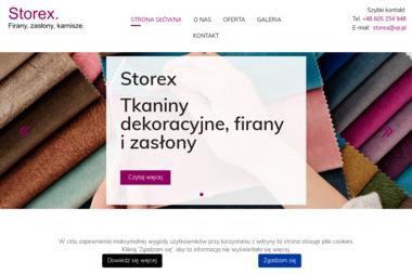 Storex - Zasłony na Wymiar Warszawa