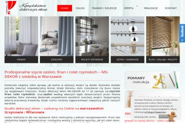 Studio MS Dekor - Zasłony na Wymiar Warszawa