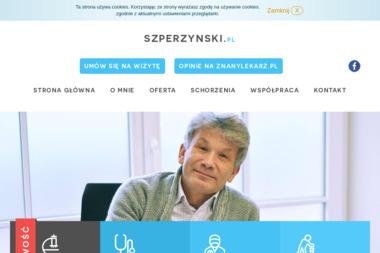 SPECJALISTA ORTOPEDA - TRAUMATOLOG DR GRZEGORZ SZPERZYŃSKI - Ortopeda Poznań