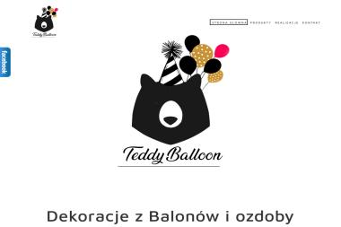 Teddy Balloon - Balony z Helem Kielce