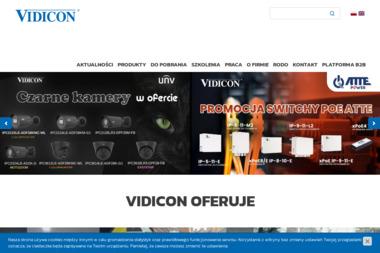 Vidicon - Systemy alarmowe, usługi Wrocław