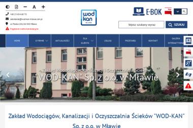 """"""" Wod-Kan """" Sp. z o.o. - Instalacje sanitarne Mława"""