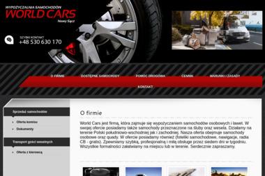 World Cars - Wypożyczalnia samochodów Nowy Sącz