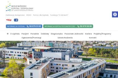 Wojewódzki Szpital Dziecięcy w Toruniu obecnie WOJEWÓDZKI SZPITAL ZESPOLONY IM. L. RYDYGIERA - Internista Toruń