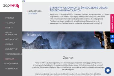 ZapNet Sp. J. - Internet Odolanów