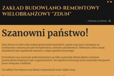 Z.B.R.W. ZDUN - Kominki Malbork