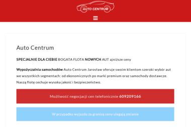 AUTO CENTRUM - Wypożyczalnia samochodów Jarosław