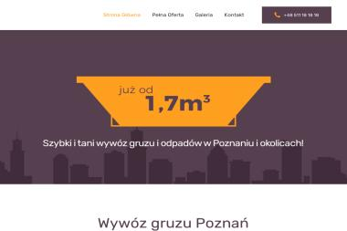FUNEL - Wywóz Gruzu Poznań