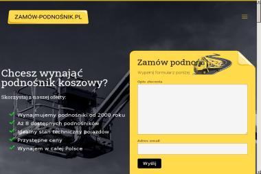 Zamów podnośnik - Prace wysokościowe Warszawa