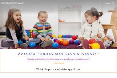 Żłobek Akademia Super Nianie - Żłobek Niepubliczny Sopot