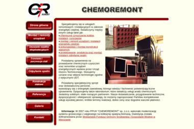 CHEMOREMONT - Projekt Kotłowni Radom