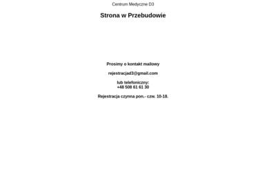 Centrum Medyczne d3 Sp. z o.o. - Okulista Bydgoszcz
