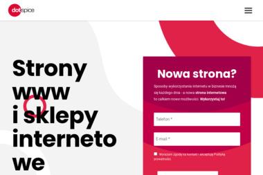 Dotspice.com Sp. z o.o. - Identyfikacja wizualna Wrocław