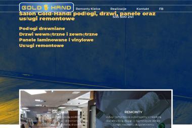 P.H.U GOLD-HAND KRZYSZTOF BRZYSZKIEWICZ - Remont łazienki Kielce