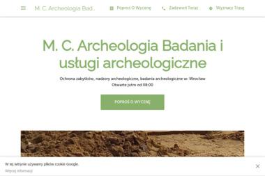 M. C. Archeologia - Konserwacja Zabytków Wrocław
