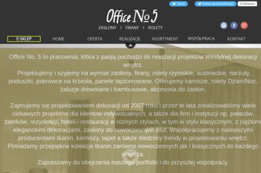 Office No.5 - Firany na Wymiar Wrocław
