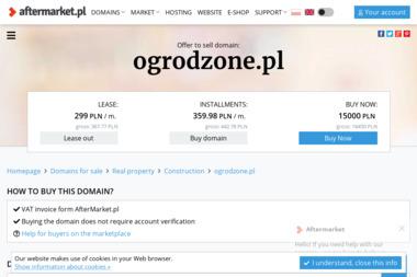 OGRODZONE - Montaż ogrodzenia Ujazd
