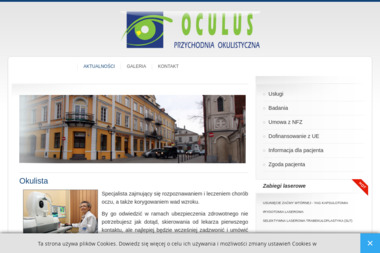 Przychodnia Okulistyczna OCULUS - Okulista Piotrków Trybunalski