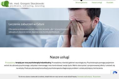 Lek. med. Grzegorz Skoczkowski - psychiatra, seksuolog, neurolog - Seksuolog Gdynia