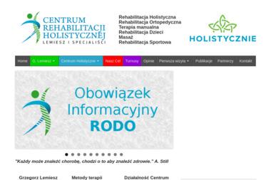 Centrum Rehabilitacji Holistycznej - Rehabilitanci medyczni Olsztyn