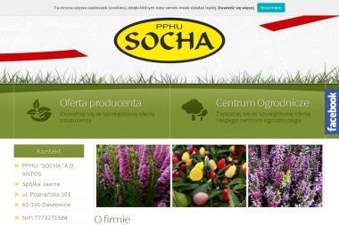 """PPHU """"SOCHA"""" - Ziemia Na Sprzedaż Daszewice"""