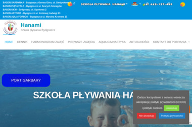 Szkoła pływania HANAMI - Nauka pływania Gościeradz