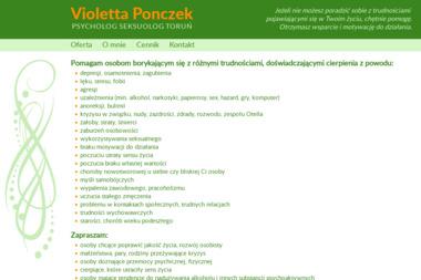 Psycholog Seksuolog Violetta Ponczek - Seksuolog Toruń