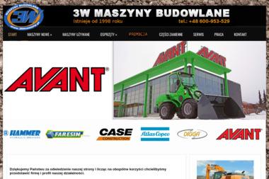3W Maszyny Budowlane Sp. z o.o. - Koparko-ładowarki Chwaszczno