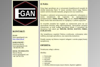 Egan - Toczenie Przygodzice