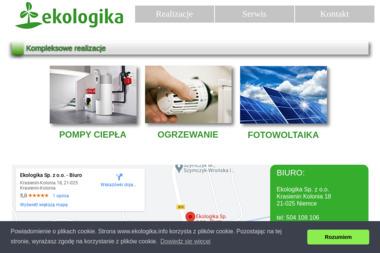 Ekologika Sp. z o.o. - Pompy ciepła Rzeczyca