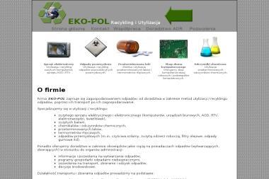 Eko-Pol - Przetwarzanie odpadów Cieszyn