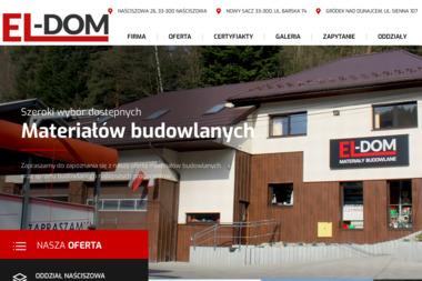 El-Dom - Hurtownia Budowlana Nowy Sącz