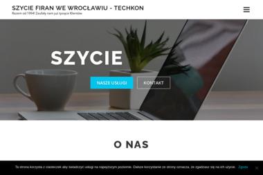 Techkon - Nowoczesne Szycie Firan Wrocław