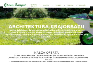 GREEN CARPET - Projektowanie ogrodów Szczecin